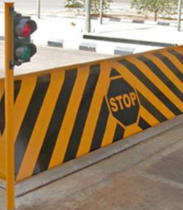 Hydraulic Rising Road Blockers
